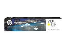 Poze Cartus Yellow PageWide HP 913A F6T79AE Original HP PageWide Pro 452DW