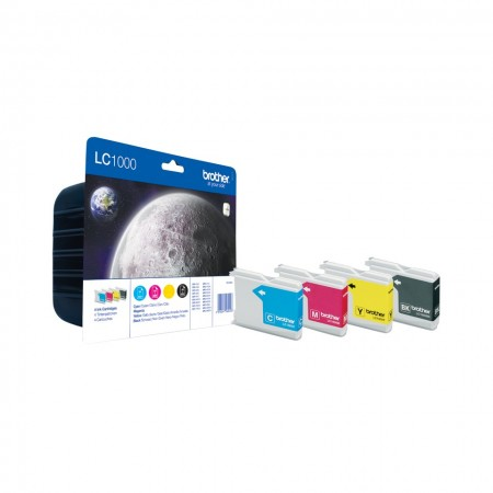 Poze MultiPack CMYK LC1000VALBP Brother DCP-330, DCP-357, DCP-560, DCP-770, MFC 5460, MFC-440, MFC-465