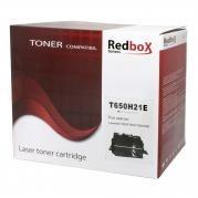 Toner compatibil Redbox T650H21E Lexmark T650,T652, T654