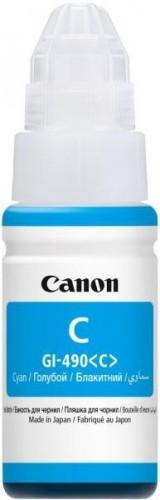 Poze Cartus Cyan GI-490C Canon Pixma G1400 CISS