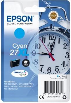 Poze Cartus Cyan Nr.27XL Epson WORKFORCE WF-7610/WF7110/ ( C13T27124012  )