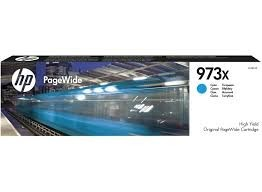 Poze Cartus Cyan XL PageWide HP 973X F6T81AE Original HP PageWide Pro 452 /447