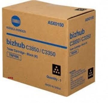 Cartus Toner Black TNP48BK  Minolta Bizhub C3350  Bizhub C3850,  A5X0150