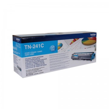 Poze Cartus Toner Cyan TN241C Brother DCP-9015, DCP-9020, HL-3140, HL-3170, MFC-9140, MFC-9340 ,