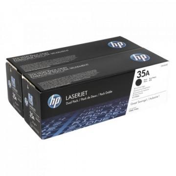 Dual Pack Cartus Toner HP 35A CB435AD HP Laserjet P1005
