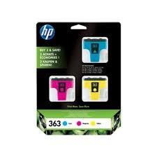 Poze MultiPack CMY HP 363 CB333EE Original HP PhotoSmart 8200