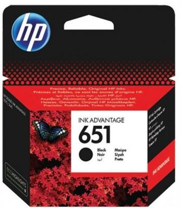 Poze Cartus Black HP 651 C2P10AE Original HP Deskjet 5575 AIO