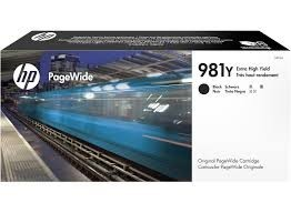 Poze Cartus Black XXL PageWide HP 981Y L0R16A  HP PageWide Enterprise 556 /586