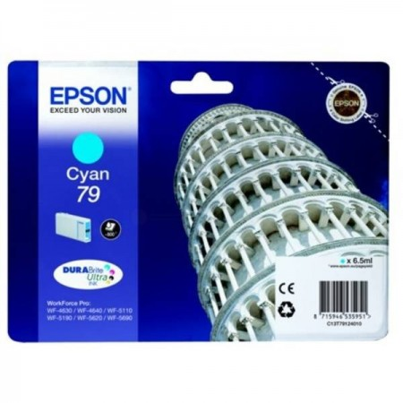 Poze Cartus Cyan C13T79124010 Epson Workforce Pro Wf-5620 , WP-5190 ,WP-5690