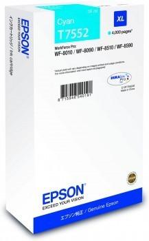 Poze Cartus Cyan Size XL  Epson Workforce Pro Wf-8010Dw, Pro WF-8090,Pro WF-8590, ( C13T755240 )