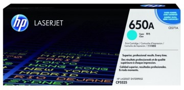 Cartus Toner Cyan CE271A HP Laserjet CP5525 , Enterprise M750
