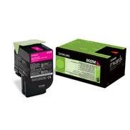 Cartus Toner Magenta Return Nr.802M 80C20M0 Lexmark CX310, CX410, CX510