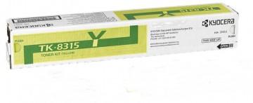 Cartus Toner Yellow TK-8315Y Kyocera TaskAlfa 2550CI