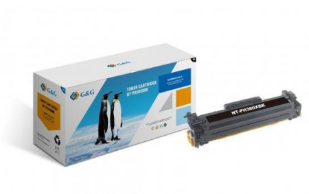 Poze HP laserjet PRO M476NWcartus toner G&G BLACK NR.312X CF380X 4,4K Compatibil