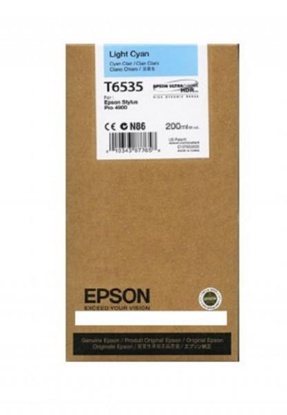 Poze Cartus Light Cyan C13T653500 Epson Stylus Pro 4900 ( T6535 )