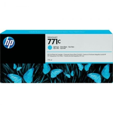 Poze Cartus Light Cyan HP 771C B6Y12A Original HP Designjet Z6200