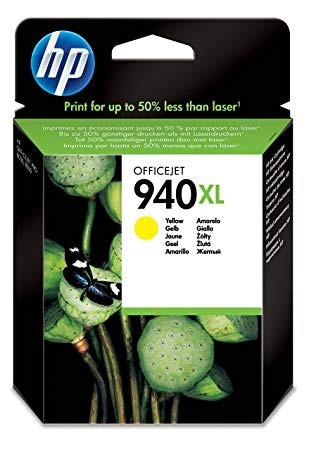 Poze Cartus Yellow HP 940XL C4909AE Original HP Officejet Pro 8000