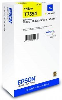Poze Cartus Yellow Size XL  Epson Workforce Pro Wf-8010 ,Pro WF-8090,Pro WF-8510 ,C13T755440