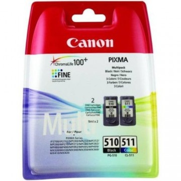 Combo Pack PG-510 + CL-511 Canon Pixma MP240