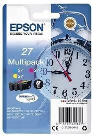 Poze MultiPack CMY Nr.27, Epson Workforce WF-7110; WF7610; WF7710, C13T27054010