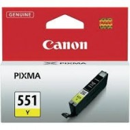 Cartus Yellow CLI-551Y Canon Pixma IP7250