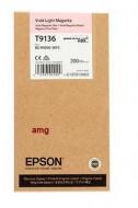 CARTUS LIGHT MAGENTA C13T913600 ORIGINAL EPSON SC-P5000 STD ( T9136 )