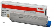 Cartus Toner Black  10K Oki C833 C822 , C843  ( 46443104 ) original