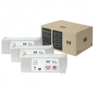 TRIPack Cartus Light Magenta HP 81 680ml C5071A Original HP Designjet 5000