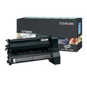 Cartus Toner Black Return C7720KX Lexmark C772