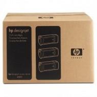TRIPack Cartus Yellow HP 90 C5085A 400ml Original HP Designjet 4000