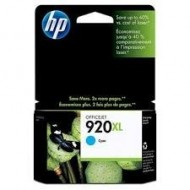 Cartus Cyan HP 920XL CD972AE Original HP Officejet 6500