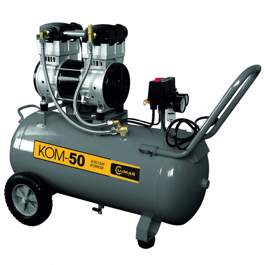 Compresor LUMAG KOM501,5 kW capacitate butelie 50 L imagine 2021