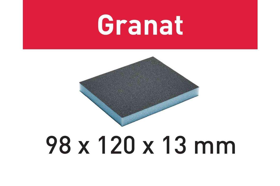 Festool Burete de şlefuit 98x120x13 220 GR/6 Granat imagine 2021