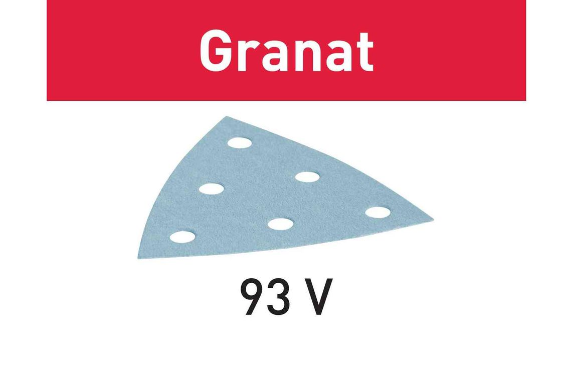 Festool disc de slefuire STF V93/6 P320 GR/100 Granat