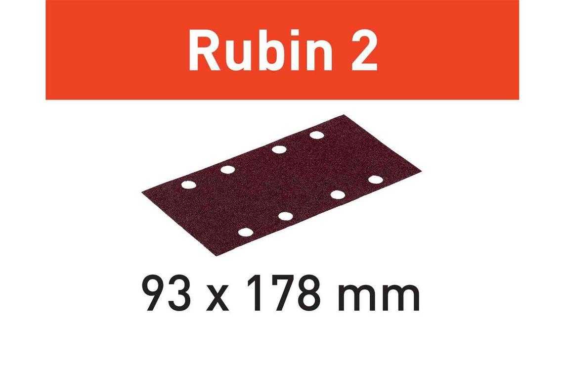 Festool Foaie abraziva STF 93X178/8 P60 RU2/50 Rubin 2 imagine 2021