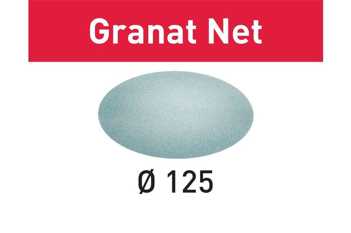 Festool Material abraziv reticular STF D125 P80 GR NET/50 Granat Net