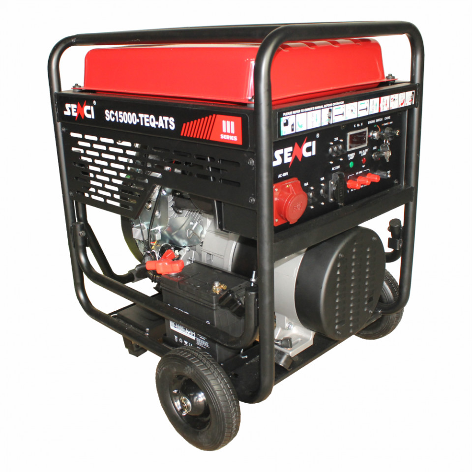 Generator Curent monofazat Senci SC18000E Putere max. 17 kW imagine 2021