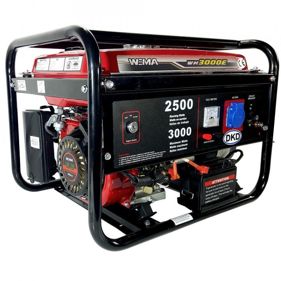Generator de curent electric Weima WM 3000, 3,0 KW