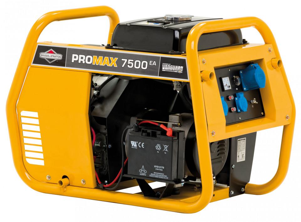 Generator de curent monofazat Briggs & Stratton Promax 7500EA 7,5 kVA poza