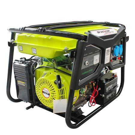 Generator de curent pe benzina Breckner BS6500, monofazat (2 x 220V) imagine 2021