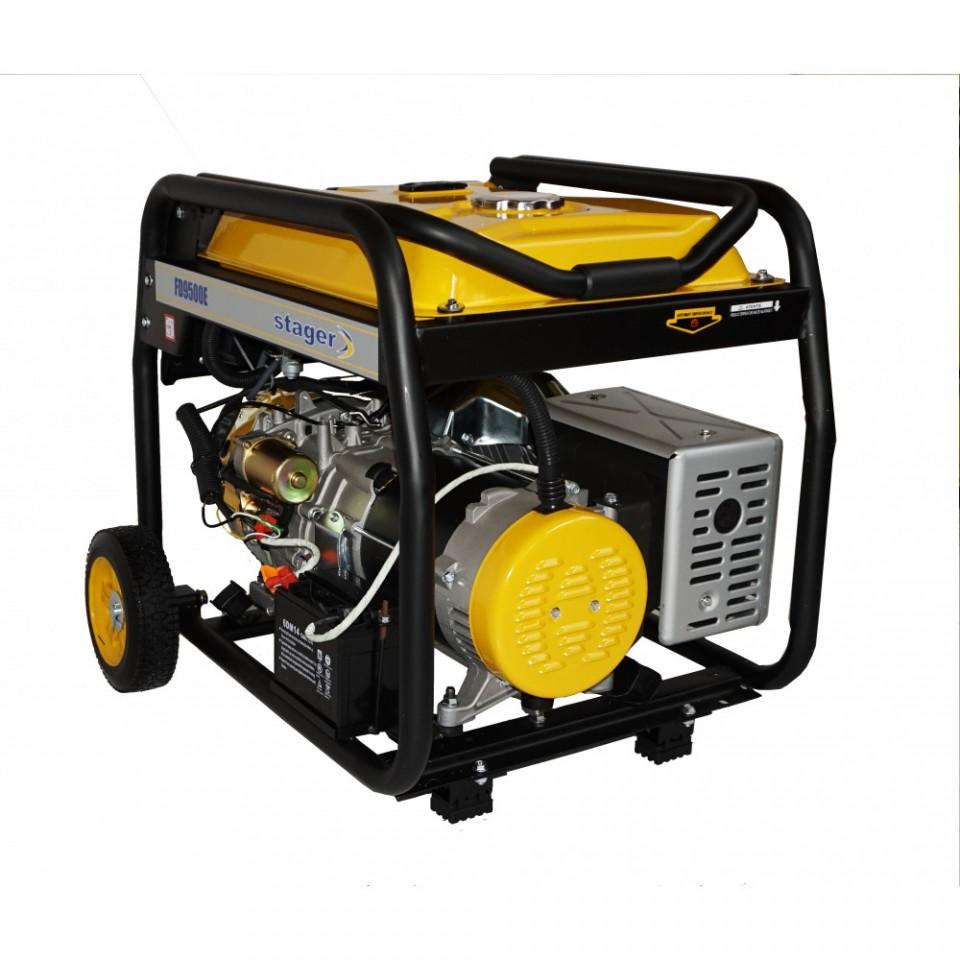 Generator Curent Trifazat Open Frame Fd Avr Inclus