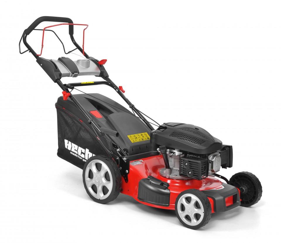 HECHT 547 SXW 5 in 1 Masina de tuns iarba, motor benzina, autopropulsata, 4.5 CP, latime de lucru 46 cm