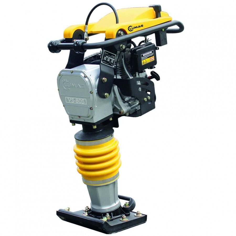 Mai compactor LUMAG VS80S149cc dimensiune talpă 345×285 mm