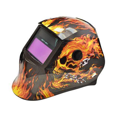 Masca de sudura automata Breckner Germany Fire Skeleton imagine 2021