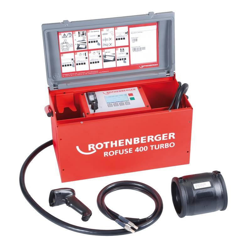Masina Sudura Electrofuziune Rothberger Roweld Rofuse Turbo