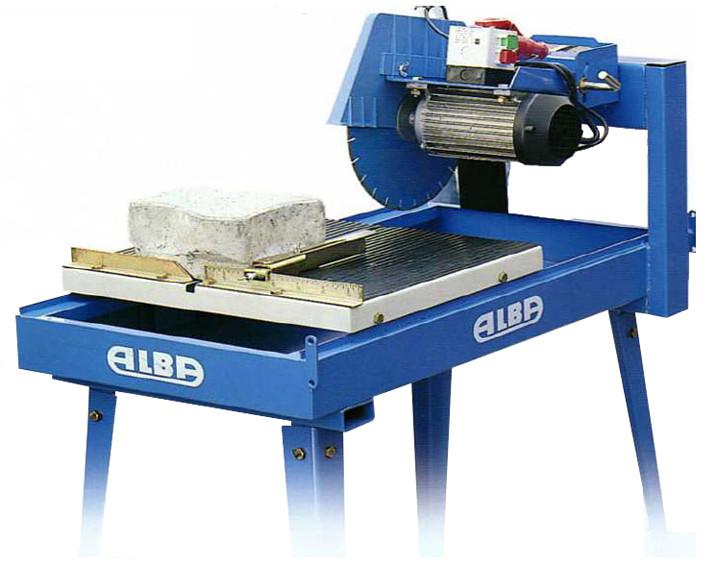 Masina de taiat materiale de constructii 54cm, 3 CP Alba TVR 450