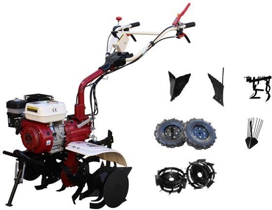 Motosapa Media Line MS 7500 CF 7CP Pachet Top + roti cauciuc + plug de bilonat + roti metalice + plug simplu + prasitoare + extractor cartofi imagine 2021