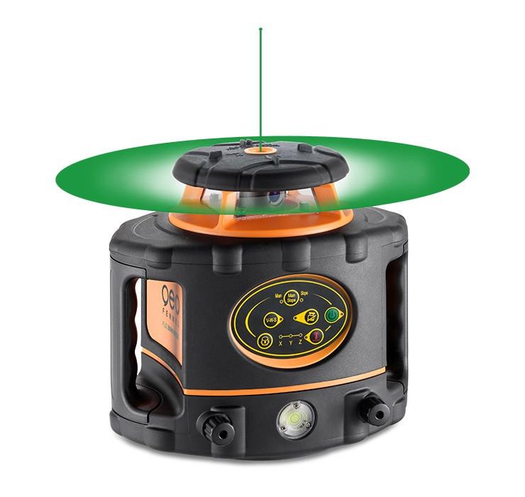 Nivela Laser Verde Rotativa Orizontal Vertical Flg Hv Green