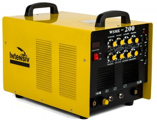 WSME 200 AC/DC – Invertor de sudura aluminiu TIG/WIG INTENSIV