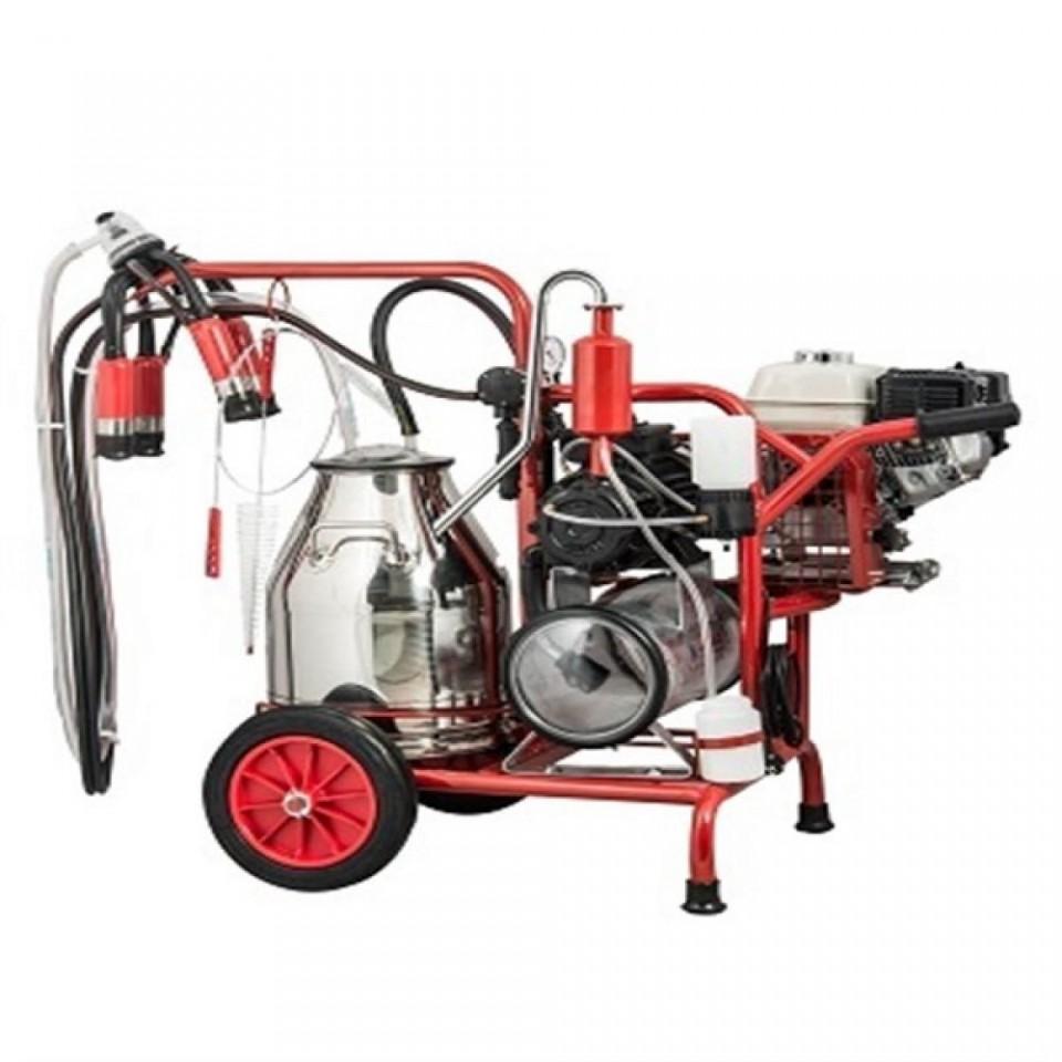 Aparat de muls vaci Kurtsan KM03074 Motor Honda 4.8CP 1 post 200 L/min imagine 2021